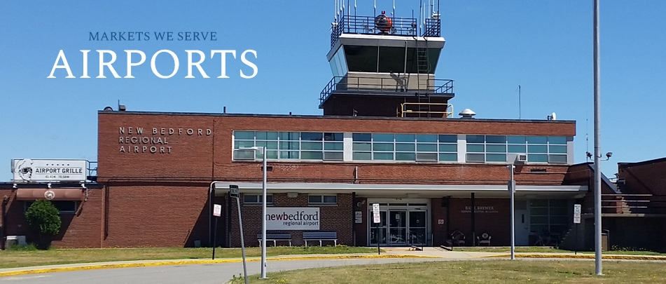 Surveying for Airports in MA, RI, CT and PA